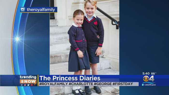 Trending Now: Princess Charlotte Starts Her 1st Day Of School