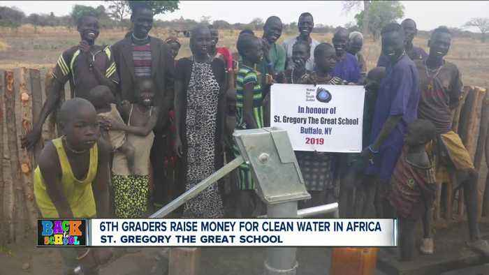 St. Gregory the Great 6th graders help fund well in South Sudan