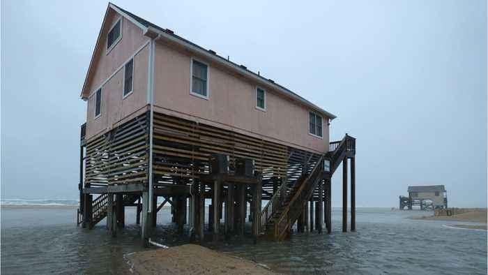 Hurricane Dorian Hits North Carolina's Outer Banks