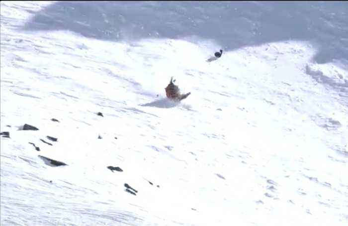 American skier suffers spectacular 'Tomahawk' wipe out in New Zealand