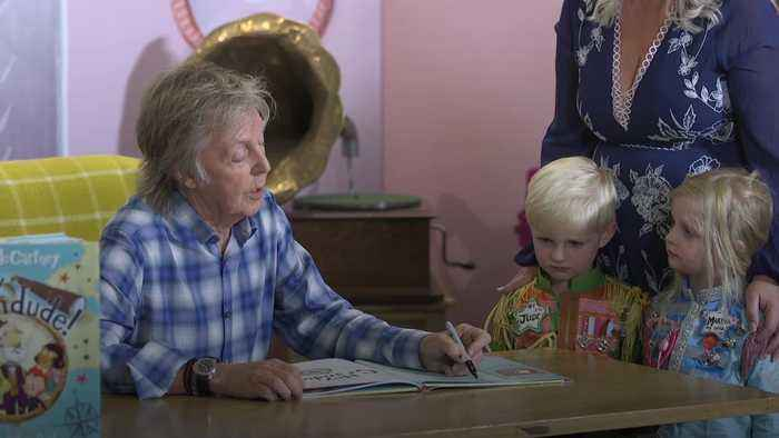 Sir Paul McCartney releases first children's book