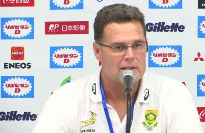 South Africa crush Japan in final World Cup warm-up