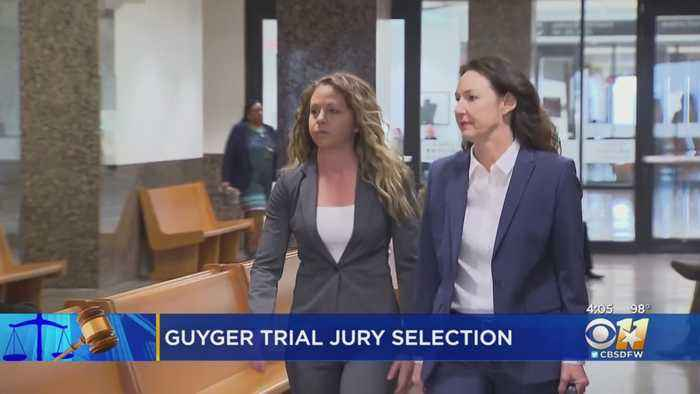 Potential Jurors Assemble In Dallas For Murder Trial Of Former Police Officer Amber Guyger