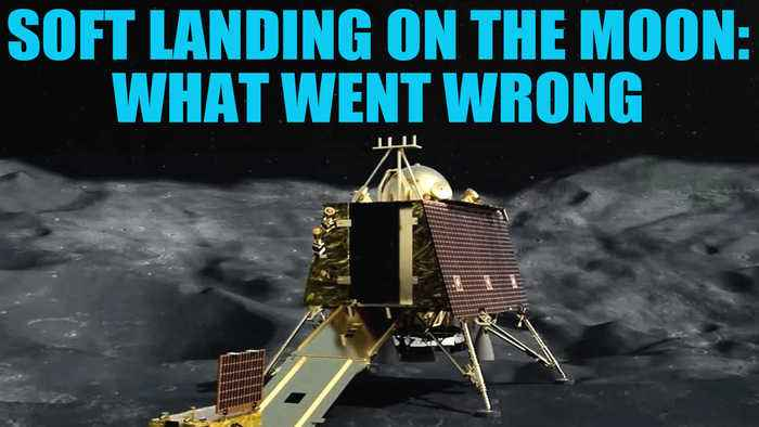 How difficult is a soft landing and what went wrong with India's moon mission