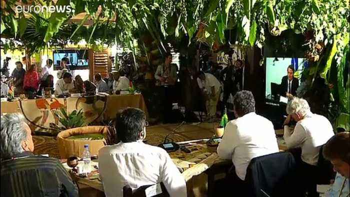 Seven South American leaders sign forest agreement in Amazon town
