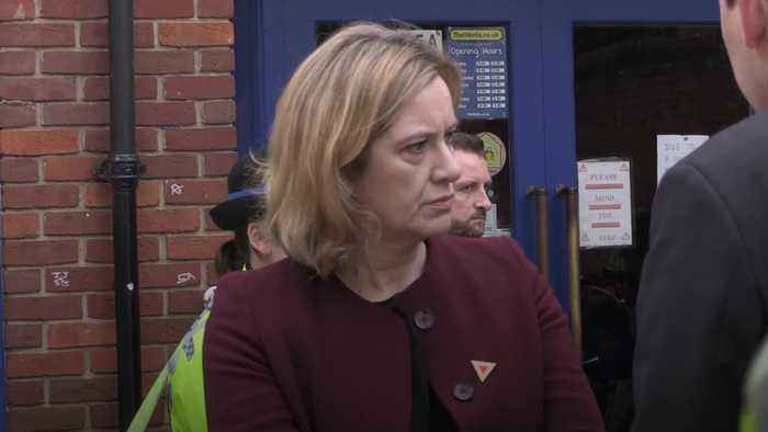 Amber Rudd resigns from Cabinet and surrenders Tory whip