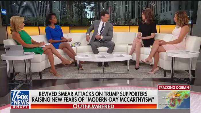 Fox News host Harris Faulkner slams Debra Messing