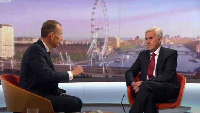 John McDonnell on Boris:  I don't trust him an inch