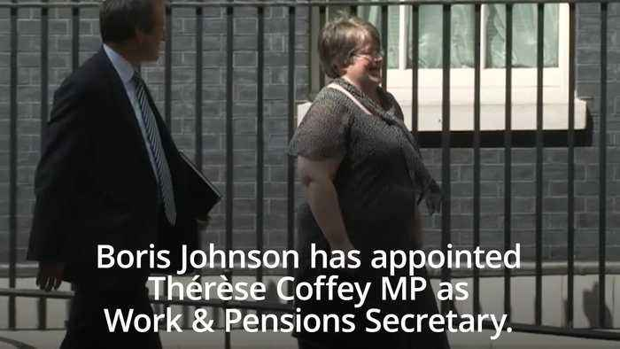 Therese Coffey replaces Amber Rudd in Cabinet as Work and Pensions Secretary