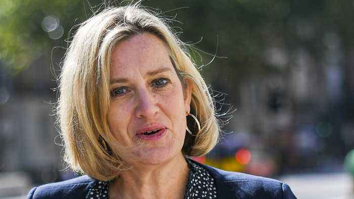 'I Cannot Stand By'': Amber Rudd Resigns Over Boris Johnson's Mass Firings