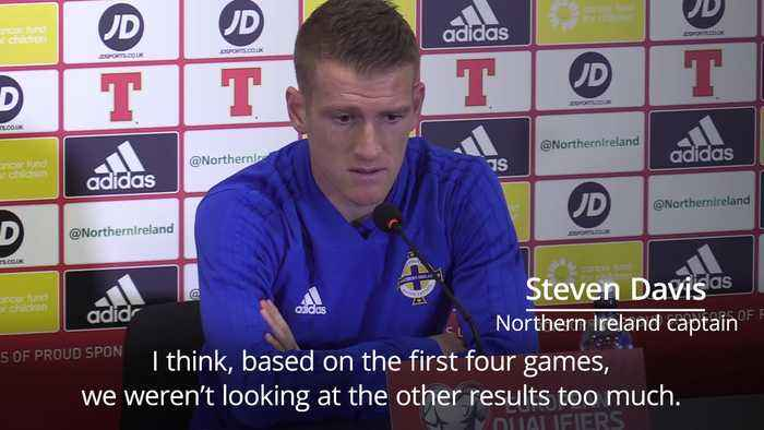 Steven Davis turns up the heat on Germany ahead of crucial Euro 2020 qualifier