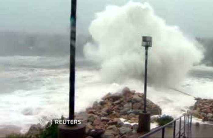 Hurricane Dorian still pounding Canada's Atlantic Coast