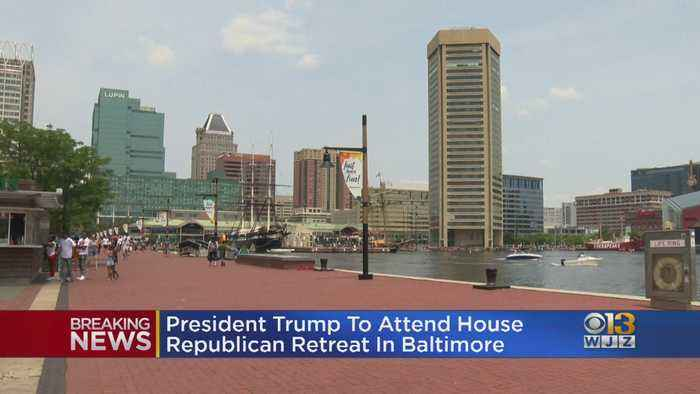 President Trump To Attend House Republican Retreat In Baltimore