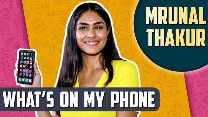 What's On My Phone With SUPER 30 Star Mrunal Thakur | Hottest Picture, Last Whatsapp Message