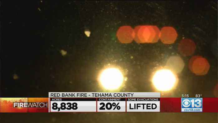 Some Evacuations Lifted In Tehama County Red Bank Fire