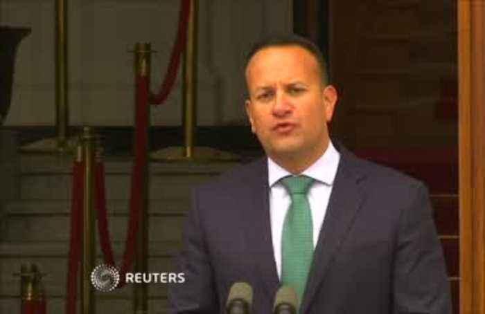 Irish PM Varadkar says: no-backstop equals no-deal Brexit