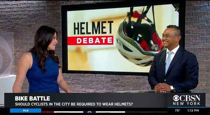 Debate Goes On Over Biking, Helmets And Rides Through New York City