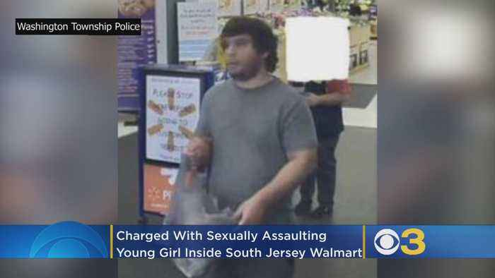 Man Charged With Sexually Assaulting Young Girl Inside South Jersey Walmart, Police Say