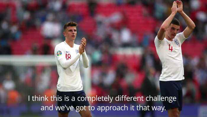 England prepare for Kosovo test