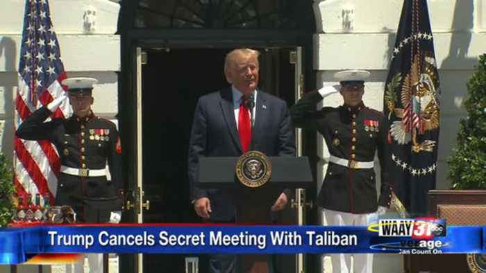 Trump Cancels Meeting With Taliban