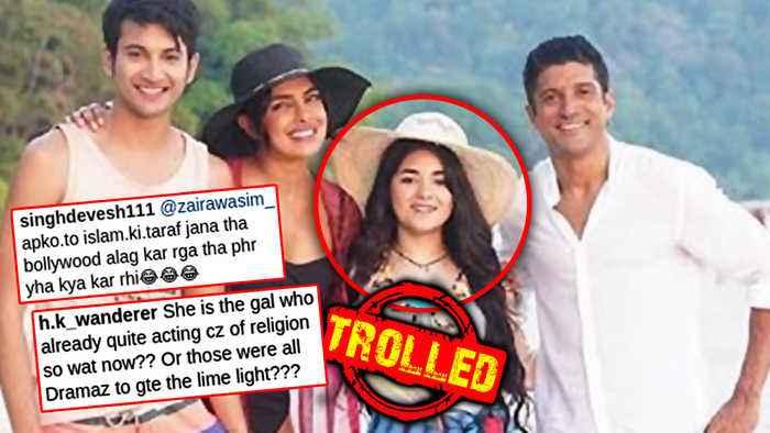 Zaira Wasim GETS TROLLED For Attending The Sky Is Pink Screening With Priyanka Chopra