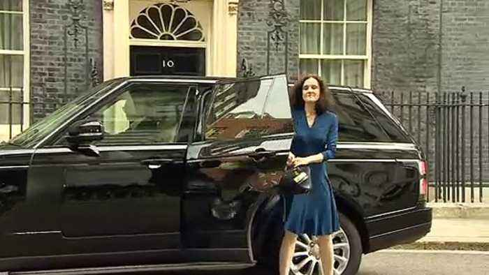 Cabinet arrive at 10 Downing Street