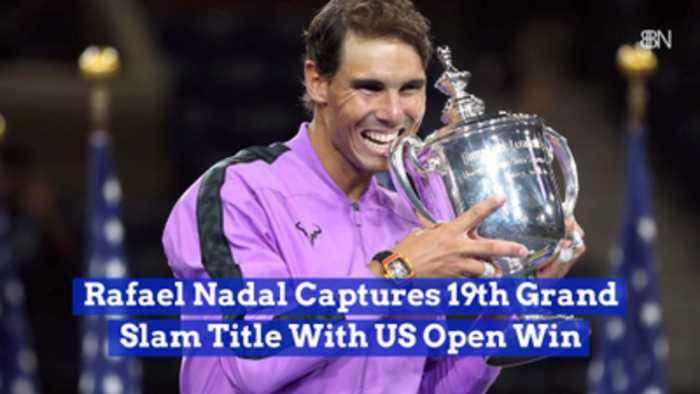 Rafael Nadal Captures 19th Grand Slam Title With US Open Win