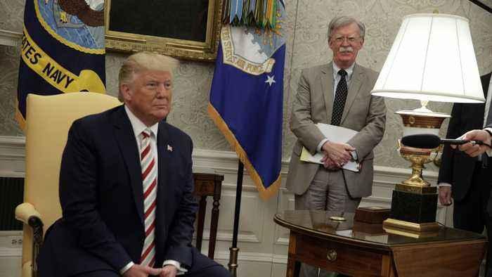 Trump Says John Bolton 'No Longer Needed' At The White House