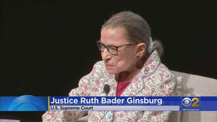 Justice Ginsburg Speaks At U Of C
