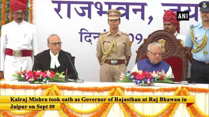 Kalraj Mishra takes oath as Rajasthan Governor