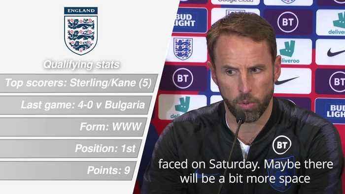 Euro 2020 qualifier: England v Kosovo