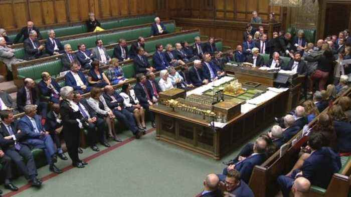 Brexit Scramble Leads to One of the Strangest Days in UK's Parliament