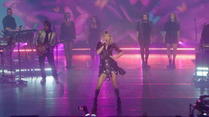 Taylor Swift's 'City Of Lover' Concert In Paris