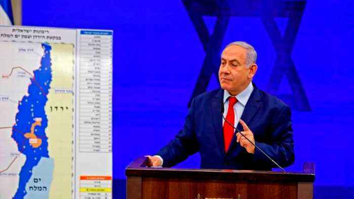 Israel's Netanyahu announces plan to annex Jordan Valley in West Bank