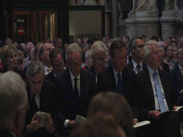 Paddy Ashdown praised as man of ideals at Westminster Abbey service