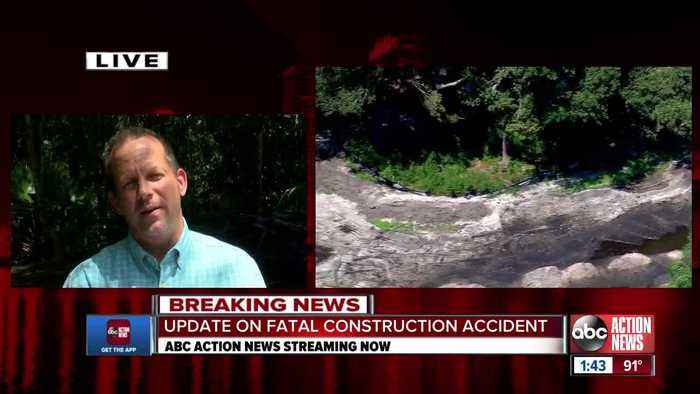 Construction worker killed after being struck by backhoe