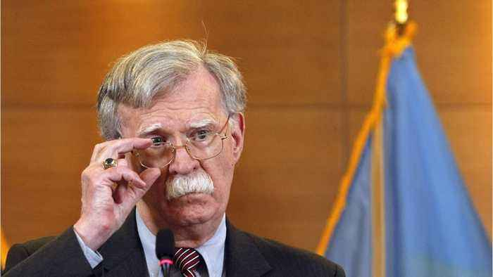 Trump Lets John Bolton Go
