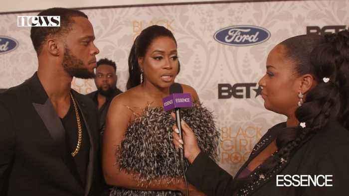 ESSENCE Asks Celebrities Their Superpower on Black Girls Rock! Red Carpet
