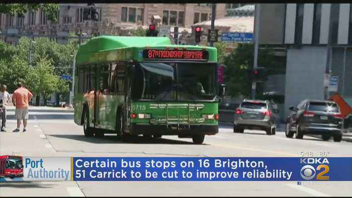 Port Authority To Consolidate Pittsburgh Area Bus Stops