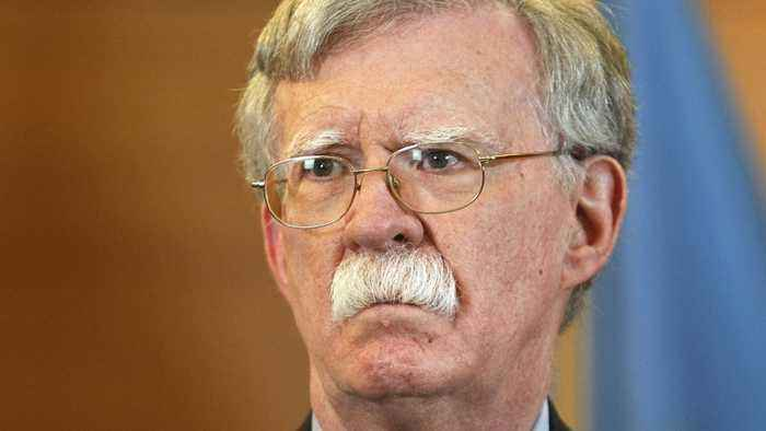 White House Brief? Bolton Writes Two-Sentence Letter Of Resignation