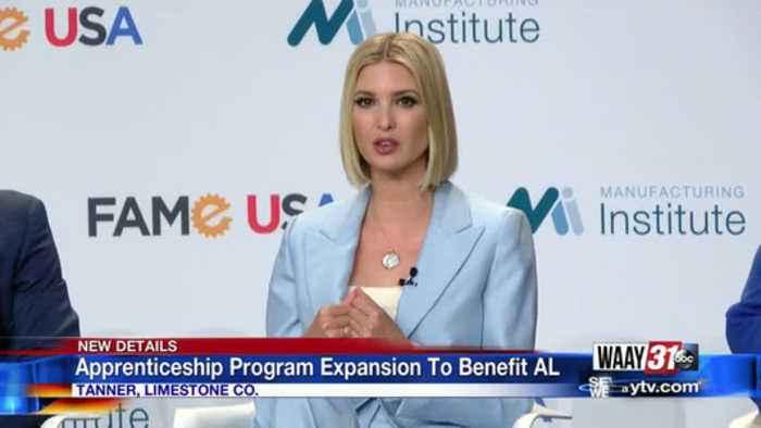 Ivanka Trump praises North Alabama for effort to solve shortage of skilled workers