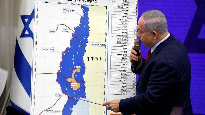 EU reacts to Netanyahu's plans to annex Jordan Valley, calls any settlement 'illegal'