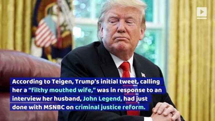 Chrissy Teigen Opens up About Trump Twitter Feud