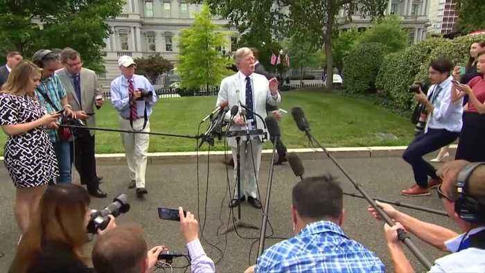 Trump fires hardline adviser John Bolton