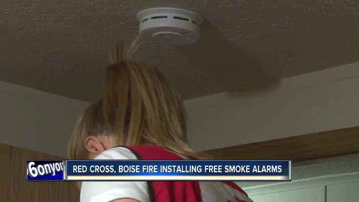 Idaho Red Cross and Boise Fire installing free smoke alarms