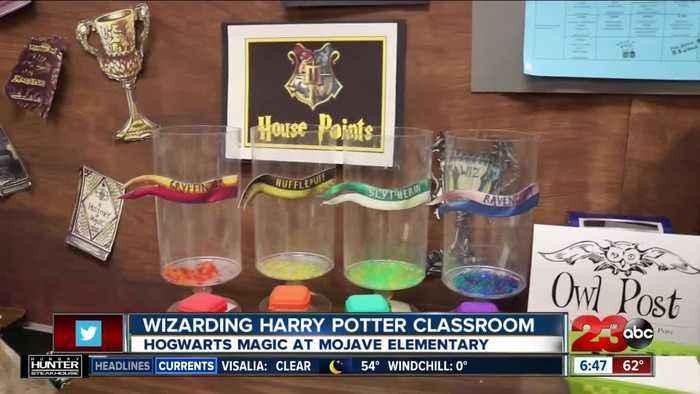 Wizarding Harry Potter Classroom at Mojave Elementary