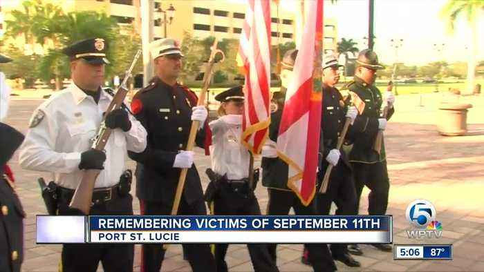 Remembering victims of 9/11 in Port St. Lucie