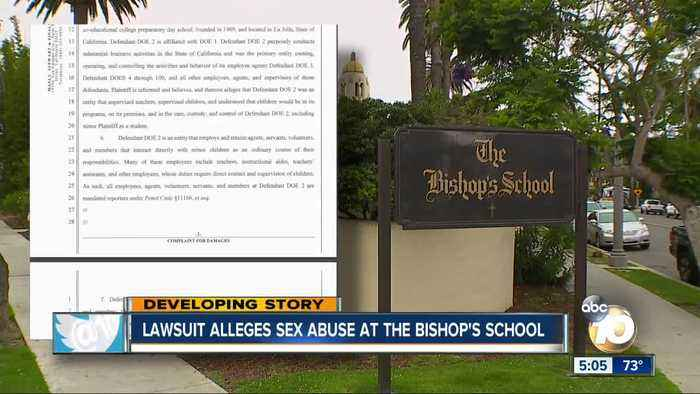 Lawsuit alleges sex abuse at Bishop's School
