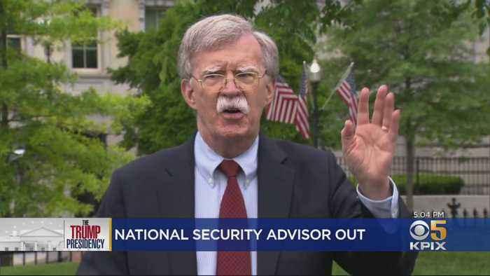 President Trump Abruptly Dismisses Bolton At National Security Advisor