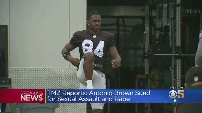 Report: Antonio Brown Sued By Woman Claiming He Raped, Assaulted Her